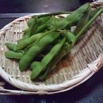 ひさご亭 - 枝豆