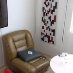 カフェ・ルーラル - 向かい合わせにソファーがふたつ