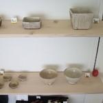 カフェ・ルーラル - 陶芸作家の作品などが展示されています