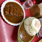 シュクリア - ✨ポークカツ目玉カレー大盛(※ライス量1kg)✨