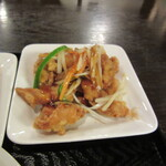 ajinochuukahagoromo - 揚げ若鶏の野菜甘酢掛け