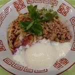 拳10ラーメン - 料理写真:冷やし汁なし担々麺(温玉付¥950)