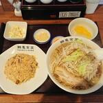 鶴亀食堂 - 鶴亀セット 990円