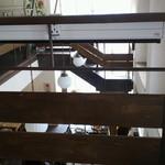 nR table - 二階はロフトです