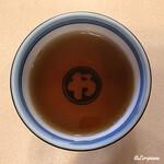 やぶ屋総本店 - 焙じ茶