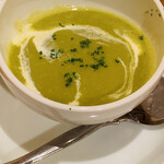 パルティータ - 料理写真:えんどう豆のスープ