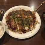 広島焼 HIDE坊 - 広島焼定食