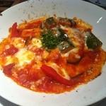Nappajushi - たっぷり野菜のラタトィユのチーズグリル¥780−