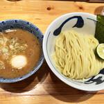 つじ田 - 濃厚味玉つけ麺…1000円