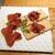 熟成和牛焼肉エイジング・ビーフ - 料理写真:熟成黒毛和牛の肉前菜  熟成肉の生ハム・自家製コンビーフ