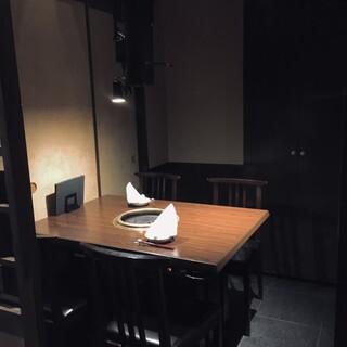 3密対策万全の完全個室