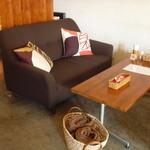カリースタイル - ソファーの客席