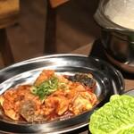 焼肉 MIYAKOYA - ホルモン皿(ホルモン盛200g)
