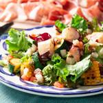 ピッツェリア&トラットリア アイドリック - 炙り蛸と夏野菜のサラダ