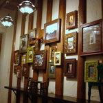 チャイ ティー カフェ - 多分この壁飾りも上で売っているんじゃぁないでしょうか