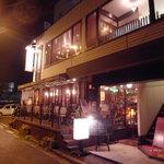 サイトウ洋食店 - コノ建物の二階です☆一階も良い感じのブラッスリーな雰囲気○