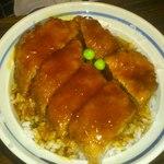 平林とんかつ店 - カツ丼