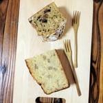 ポチコロベーグル - モカケーキ、バナナケーキ