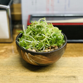 麺哲 - 料理写真:葱豚丼