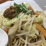 リンガーハット - まぜ辛めん 野菜たっぷり