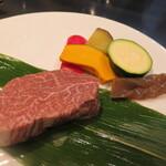プレミアム 听 - 神戸牛のステーキを。。