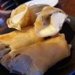 131403389 - 鶏と梅チーズの揚げ春巻