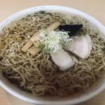 多良福 - 料理写真:中華そば(630円)