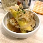 トンテキ食堂8 - 冷製 若竹と厚揚げ煮