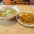 花林 - 料理写真:カレーチャーハン と 塩ラーメン