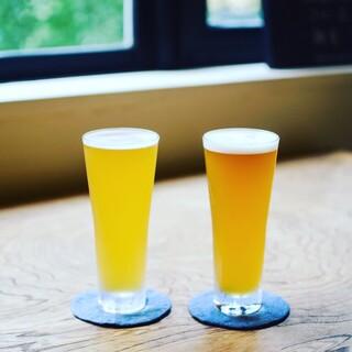 4種類TAPのクラフトビール!昼飲みOK