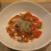 Bisutororezudoru - 料理写真:赤パプリカのマーブルスープ