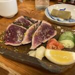 かもん亭 - カツオの塩たたき。美味しい!