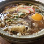 玉家 - 料理写真:もち入り味噌煮込みうどん