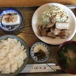 131417372 - 生姜焼定食500円