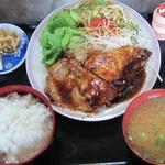 味処 春富士 - 料理写真:焼肉定食