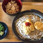 十割蕎麦 たつみ - 料理写真:日替り定食
