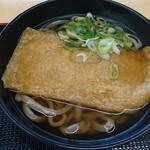 丹波大食堂 - 料理写真:きつねうどん黒