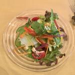オステリア アルコバレーノ - ランチセットのサラダ