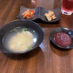コリアンダイニング・ル - おかずとスープとコチュジャン