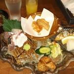 日本酒とお魚きっちん 祐星 -
