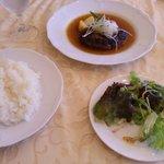 ケイズキッチン - 五島牛のハンバーグステーキ(950円)