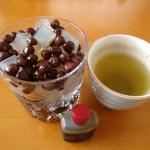 梅園 浅草本店 - 豆かん