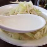 131431416 - タンメンのスープ