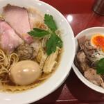 131431967 - 味玉 中華蕎麦 ( ´θ`) チャーシュー丼