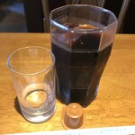 モンテローザ - ランチサービスのアイスコーヒー