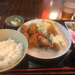 131434434 - ささみ紫蘇チーズ巻き定食
