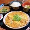 丸鶏 るいすけ - 料理写真:ソースかつ煮定食