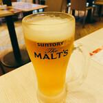 チキンバル 伊太利亭 - 生ビール