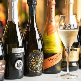 イタリアのスパークリングワイン「プロセッコ」に特化