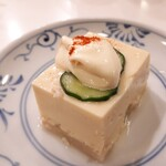 しゃぶせん - アスパラ豆腐
